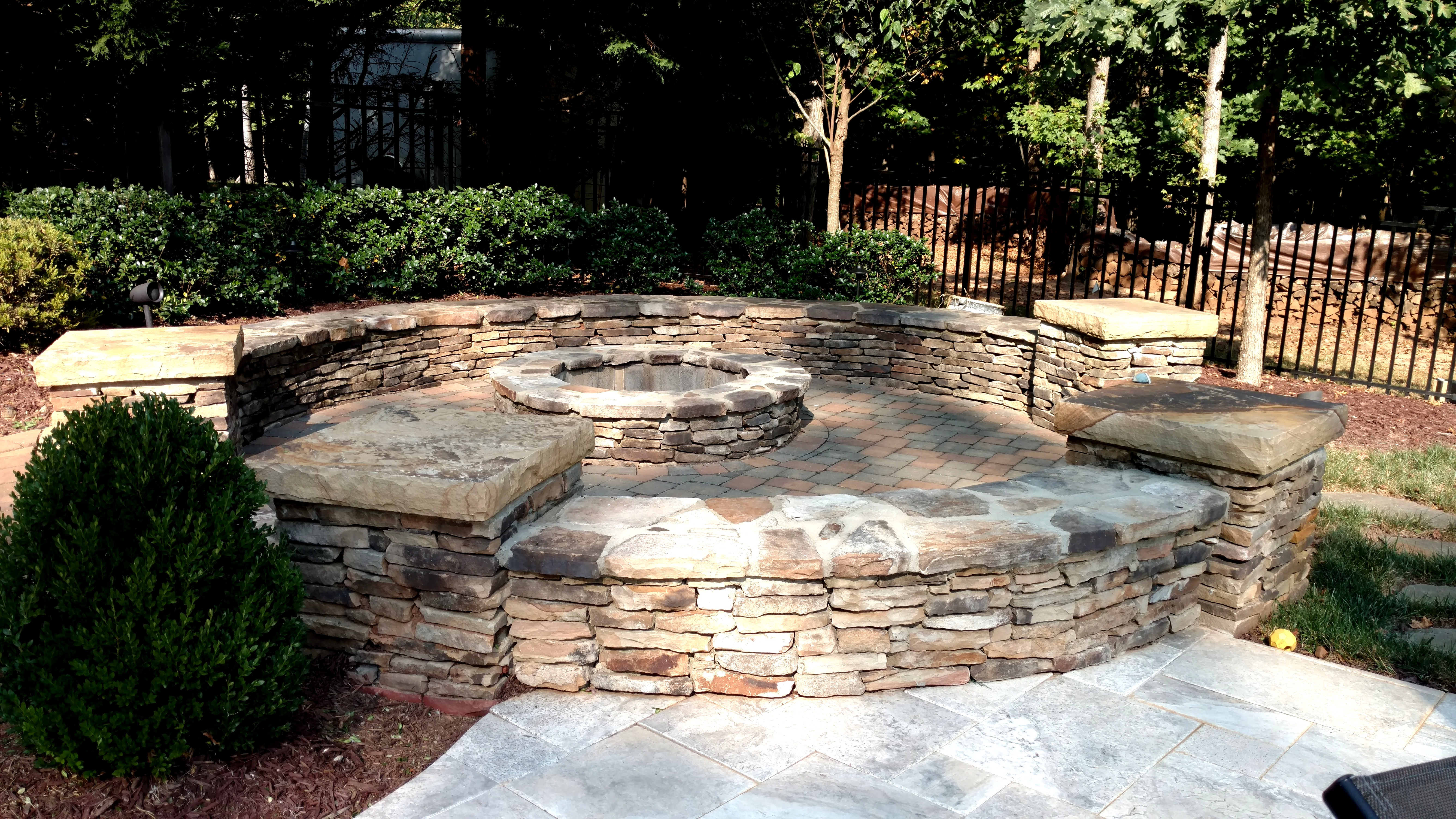 outdoor fireplaces u0026 fire pits u2013 piedmont carolina landscaping
